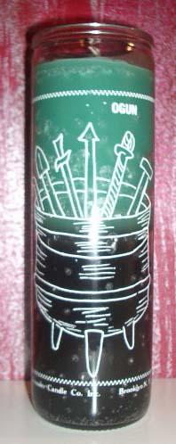 Mystic Spirit Metaphysical Shoppe Orisha Candles