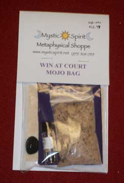Win at court mojo bag